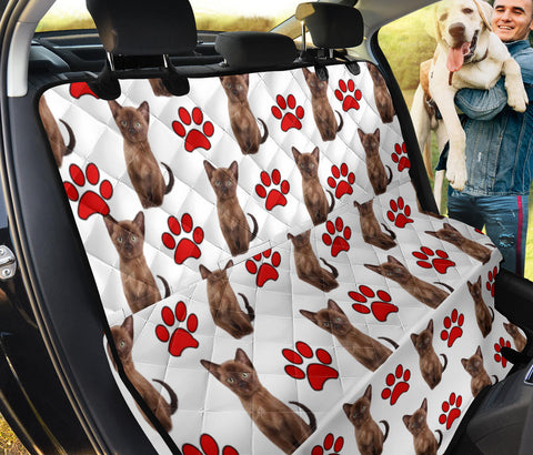 Burmese Cat Print Pet Seat covers