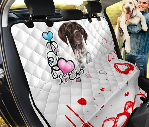 German Shorthaired Pointer Print Pet Seat covers