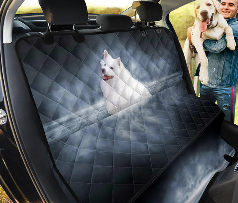 American Eskimo Print Pet Seat Covers- Limited Edition