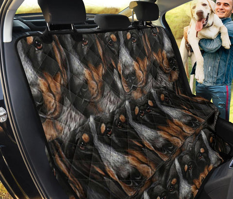 Bluetick Coonhound Print Pet Seat Covers