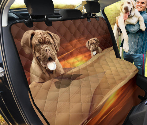 Bordeaux Mastiff Print Pet Seat Covers- Limited Edition