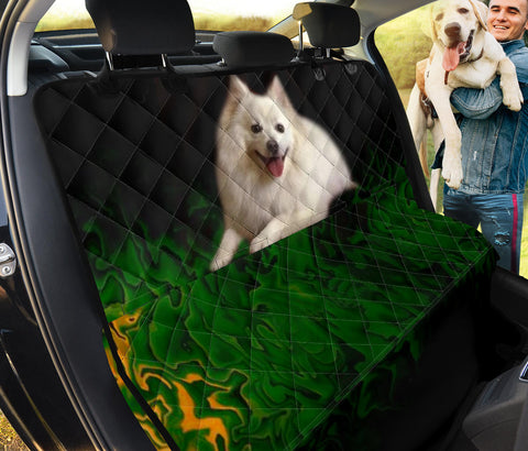 American Eskimo Dog Print Pet Seat Covers