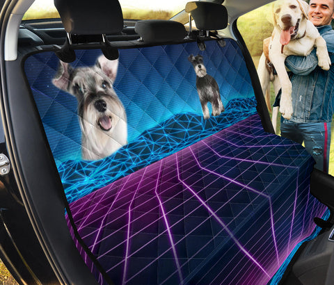 Schnauzer Print Pet Seat covers
