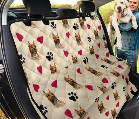 American Staffordshire Terrier Patterns Print Pet Seat Covers