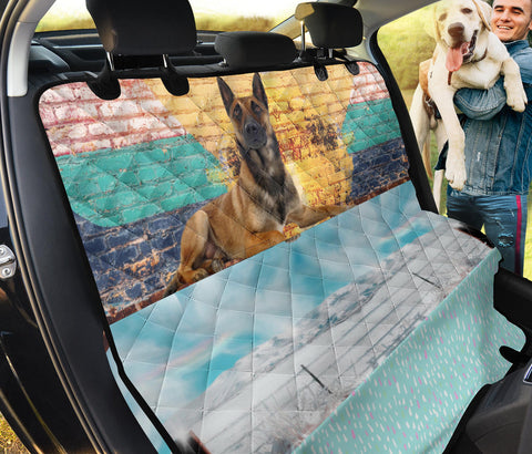Belgian Malinois Dog Print Pet Seat covers