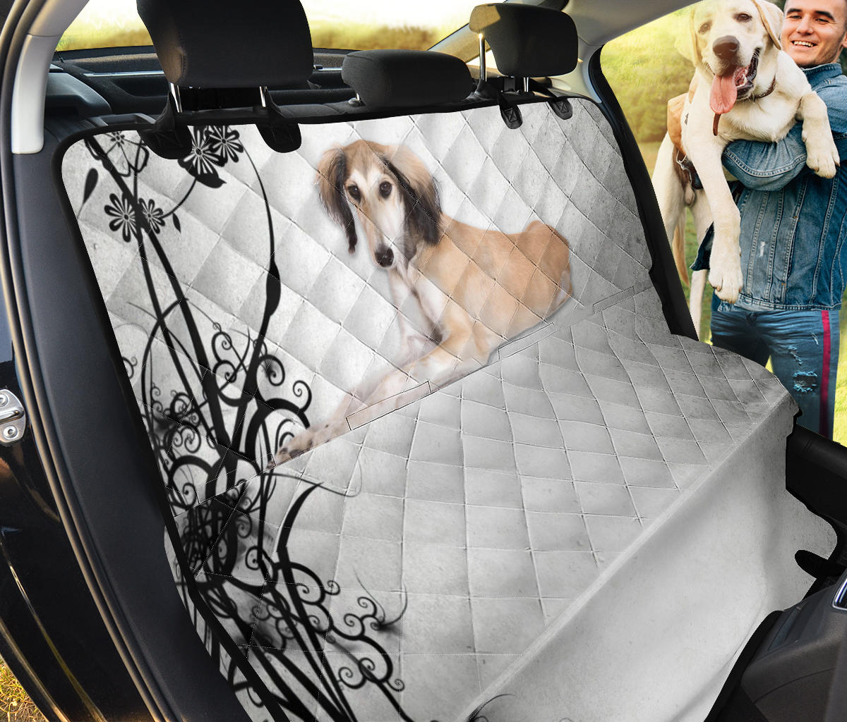 Cute Saluki Dog Print Pet Seat Covers