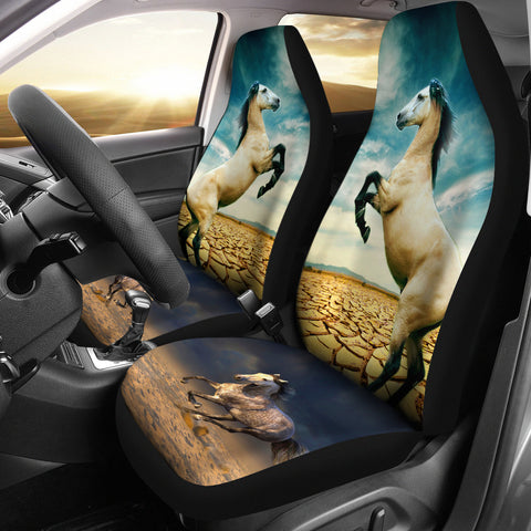 Andalusian Horse Print Car Seat Covers