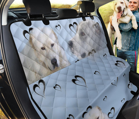 Central Asian Shepherd Dog Print Pet Seat Covers