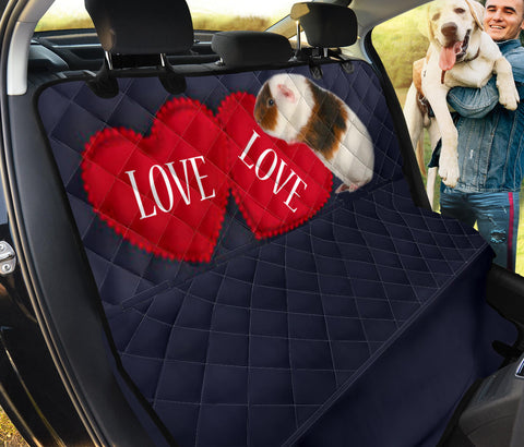 Teddy Guinea Pig Print Pet Seat Covers