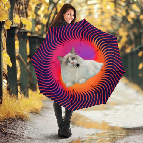 Ragdoll Cat Print Umbrellas