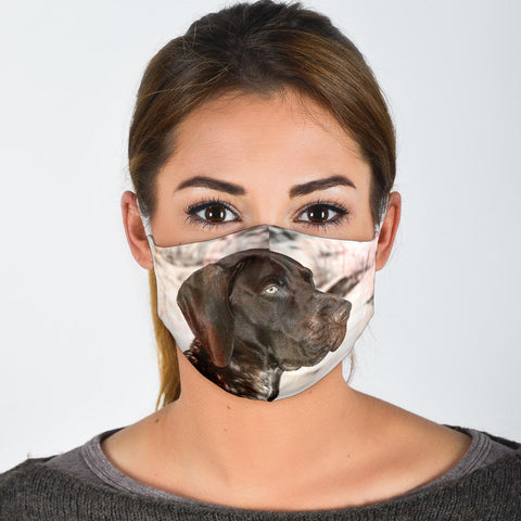 German Shorthaired Pointer Print Face Mask- Limited Edition
