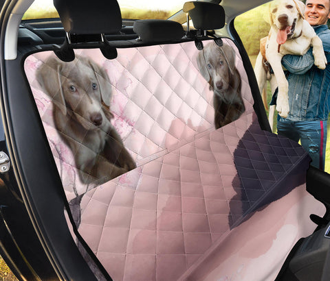 Weimaraner Print Pet Seat Covers