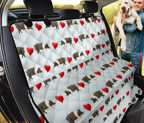 Hampshire Pig Patterns Print Pet Seat Covers