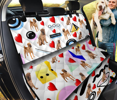 Shar Pei Patterns Print Pet Seat Covers