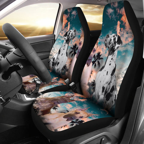 Amazing Great Dane Print Car Seat Covers
