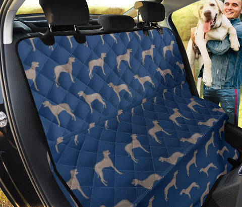 Weimaraner Patterns Print Pet Seat Covers