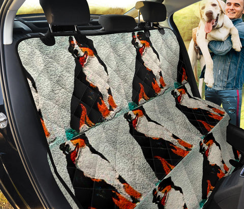 Bernese Mountain Dog Patterns Print Pet Seat covers