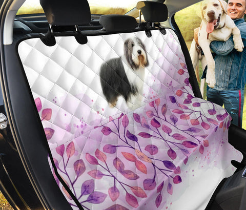 Bearded Collie Print Pet Seat covers