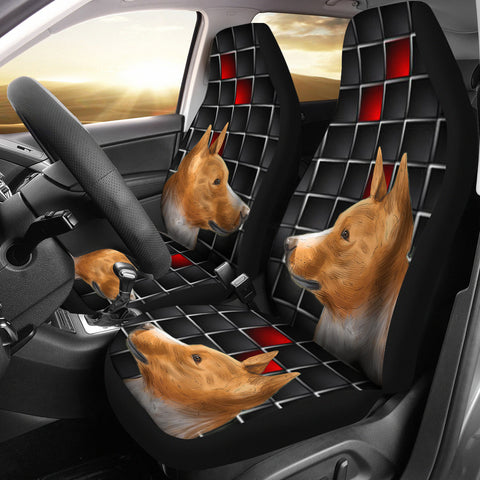 Basenji Dog Print Car Seat Covers