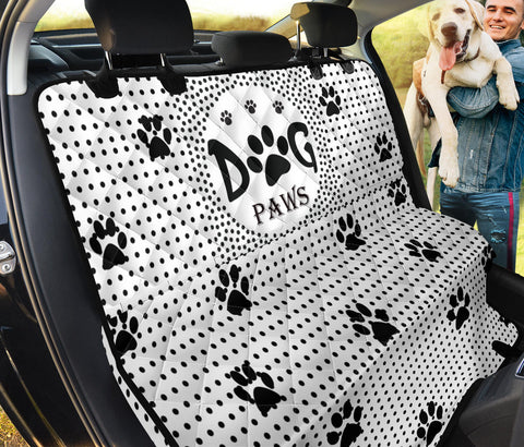 'Dog Paws' Print Pet Seat Covers