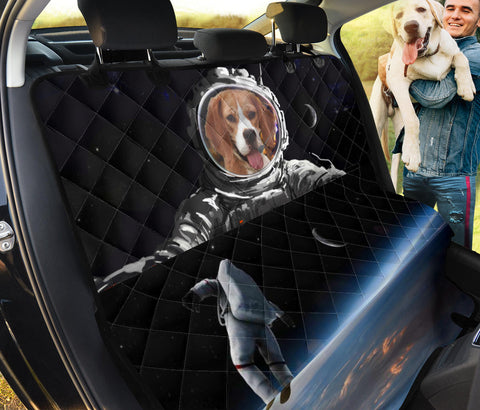 Beagle In Space Print Pet Seat Covers