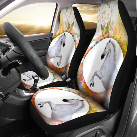 Lipizzan Horse Print Car Seat Covers