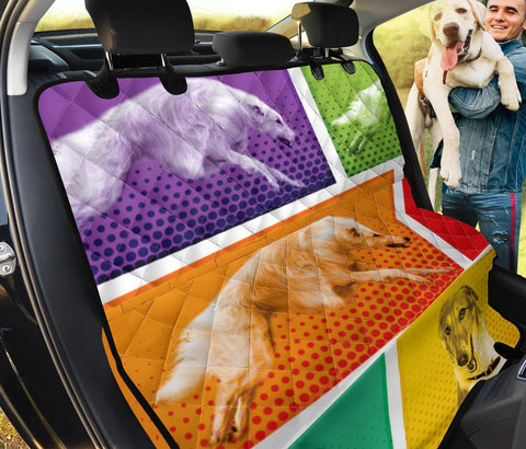 Amazing Borzoi Dog Print Pet Seat covers