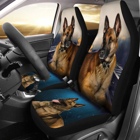 Belgian Malinois Print Car Seat Covers