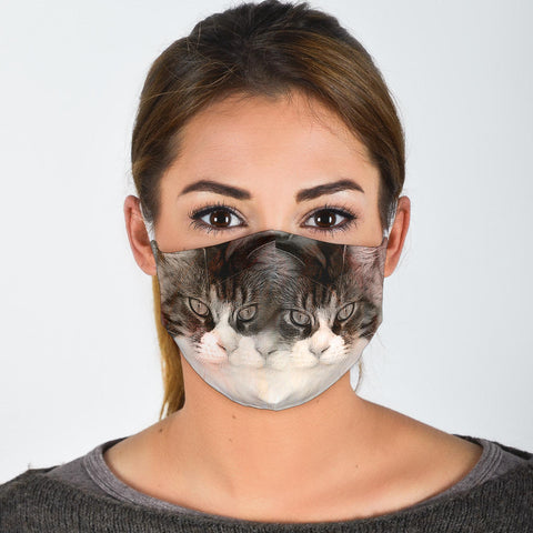 Maine Coon Print Face Mask -Limited Edition
