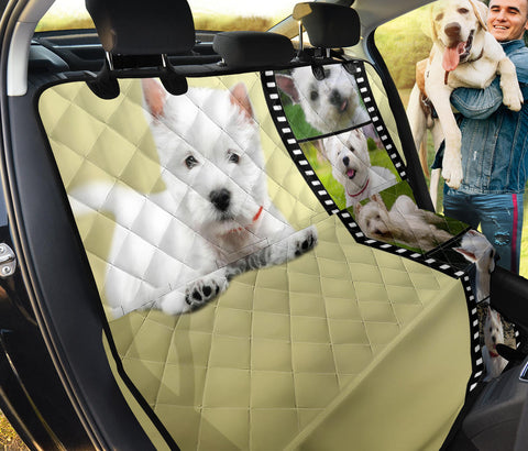 West Highland Terrier (Westie) Print Pet Seat Covers