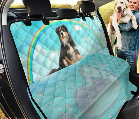 English Shepherd Print Pet Seat covers