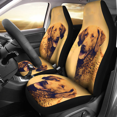 Chesapeake Bay Retriever Dog Print Car Seat Covers