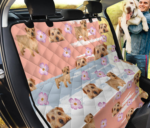 Norfolk Terrier Print Pet Seat covers