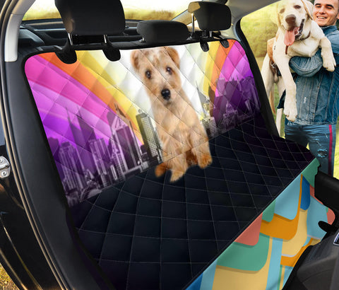 Cute Norfolk Terrier Print Pet Seat covers