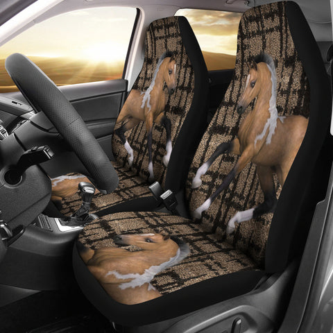 American Quarter Horse Print Car Seat Covers