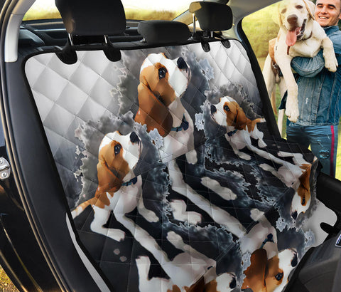 Beagle Print Pet Seat Covers- Limited Edition