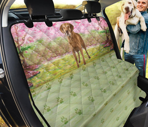 Chesapeake Bay Retriever Print Pet Seat covers