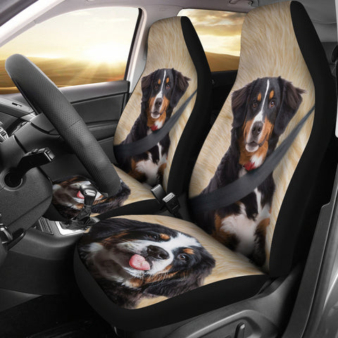 Bernese Mountain Dog Print Car Seat Covers