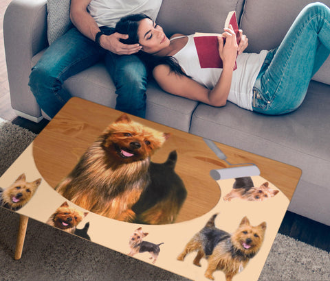 Australian Terrier Print Rectangular Coffee Table