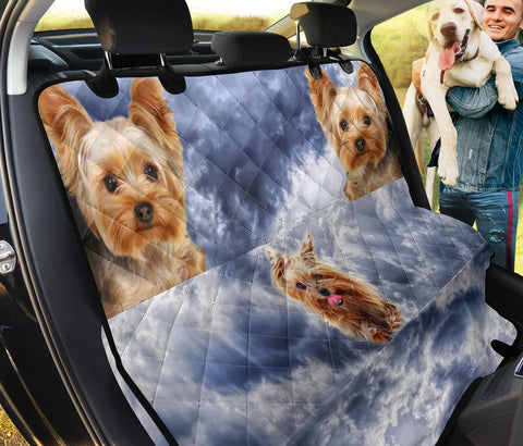 Lovely Yorkshire Terrier Print Pet Seat Covers