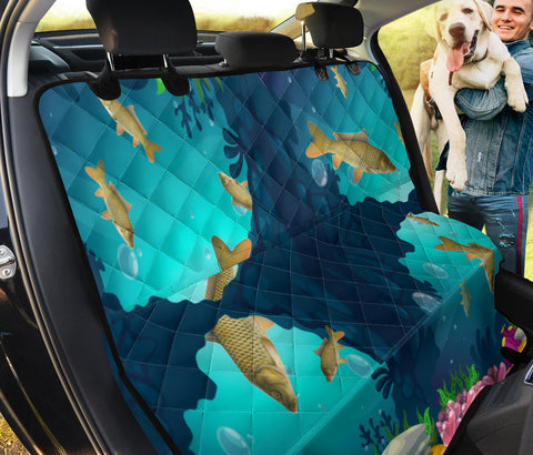 Common Carp Fish Print Pet Seat Covers