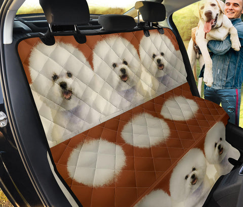 Amazing Bichon Frise Print Pet Seat Covers