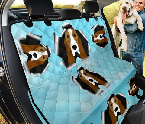 Basset Hound Dog Art Print Pet Seat Covers
