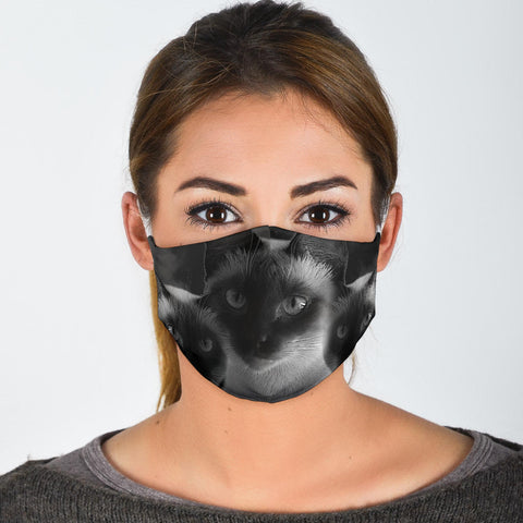Amazing Balinese Cat Print Face Mask