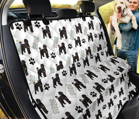 Portuguese Water Dog Print Pet Seat covers