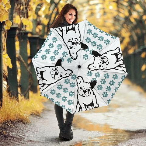 Amazing French Bulldog Art Print Umbrellas