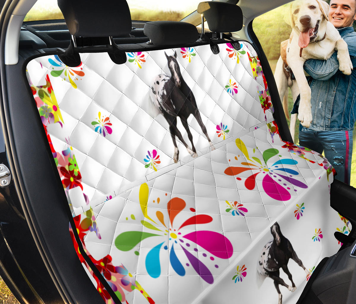Appaloosa Horse Print Pet Seat Covers