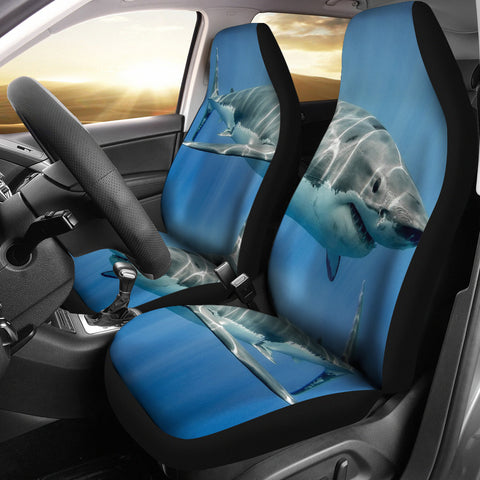 Shark Fish Print Car Seat Covers