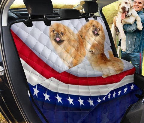 Pekingese Dog Print Pet Seat covers