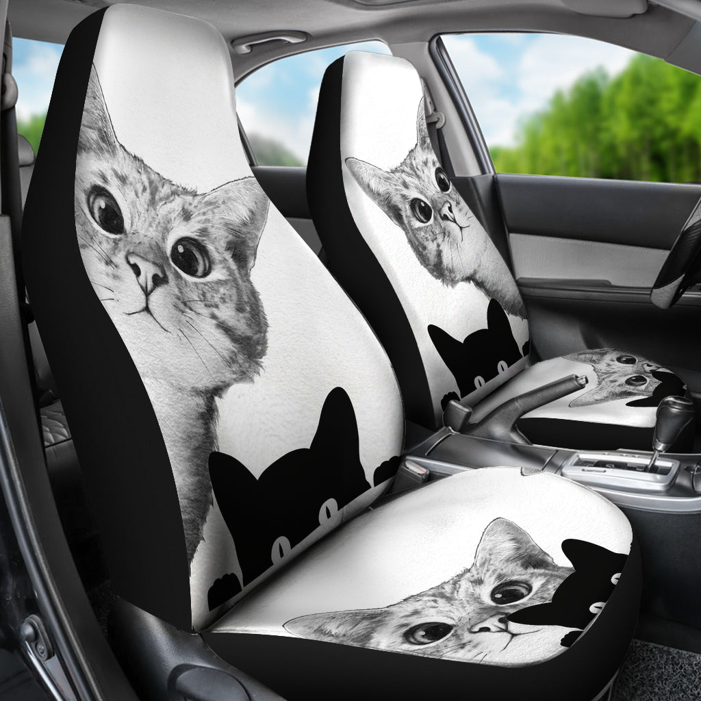 Pawlice Cute Jack Russell Terrier Print Car Seat Covers